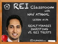 Today, Nav Athwal discusses the differences between real estate investing trusts vs. crowdfunding.