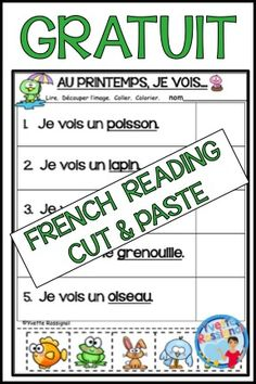 French Teaching Resources, Teaching Time, Teaching French, Teaching Spanish, Guided Reading Activities, Spanish Activities, Work Activities, Communication Orale, French Worksheets