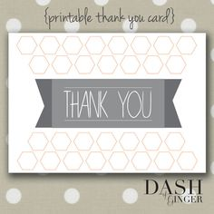Say thank you with a DIY card. The best way to add extra thought and love!