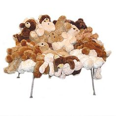 Fernando & Humberto Campana Teddy Bear Chair