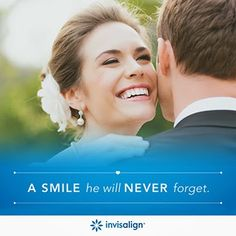 After the proposal, the average wedding planning period last thirteen months. While you can start seeing results quickly, often in just a couple of months, the typical Invisalign® treatment lasts about as long as planning the wedding. So, while you're busy keeping everything, and everyone, on schedule, Invisalign® is hard at work straightening your smile for all of your photo requests.#invisalign #brenttylerrobison Take A Smile, Your Smile, Happy Smile, Great Smiles, All Smiles, Teeth Straightening, Cosmetic Dentistry, Celebrity Weddings, Wedding Season