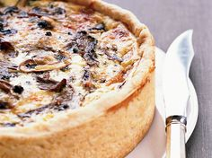 Thomas Keller's Over-the-Top Mushroom Quiche recipe combines silky egg custard with sautéed mushrooms and cheese—and rises several dramatic inches. It just might be the best quiche recipe ever. Best Quiche Recipe Ever, Quiche Recipes, Brunch Recipes, Wine Recipes, Breakfast Recipes, Cooking Recipes, Vegetarian Recipes, Breakfast Muffins, Breakfast Ideas