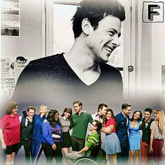 Glee: Cory was watching over them for the final two seasons.