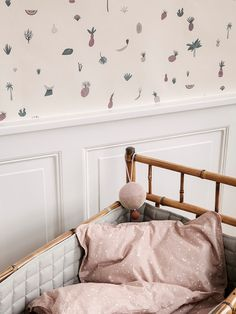 Have you seen the new Ferm Living kids wallpaper? Kids Bedroom, Nursery Design, Kids Room Design, Small Room Design, Nursery Decor, Playroom, Kids Wallpaper, Ferm Living Wallpaper, File Dans Ta Chambre