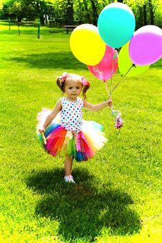 Birthday girl tutu