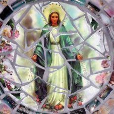 Maria in mozaïek
