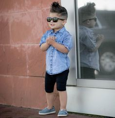 36 Stylish Boy Haircuts and Hairstyle Ideas Toddler Boy Fashion, Little Boy Fashion, Toddler Boy Outfits, Baby Boy Dress, Baby Boy Swag, Outfits Niños, Kids Outfits, Baby Outfits, Stylish Boy Haircuts