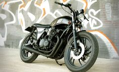 Tarmac Customs XJ650 Seca - The Bike Shed