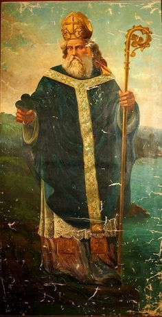 March 17th. —Latin Calendar— St. Patrick Unknown artist