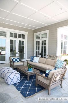 Outdoor Entertaining Area!  Details and Decor.  (Sunny Side Up) #backyardpatio