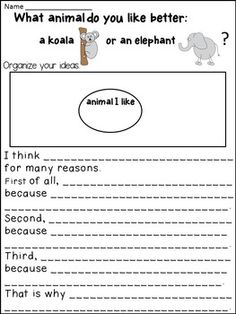 Opinion Writing: Opinion Writing for primary grades - This Opinion Writing product includes FRAMES,EXAMPLES,POSTERS,and PROMPTS.It is designed to TEACH students how to write an opinion by offering a lot of SUPPORT.The students need lots of examples and practice before they can write their own  opinion.