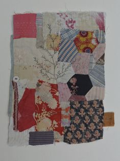 Textile art piece by Mandy Pattullo