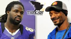 Baltimore Raven Torrey Smith and Snoop...fo shizzle