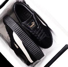 Rihanna x Puma || Shop shoes: http://www.nastygal.com/shoes_sneakers?utm_source=pinterest&utm_medium=smm&utm_content=show_off&utm_campaign=pinterest_ngdib