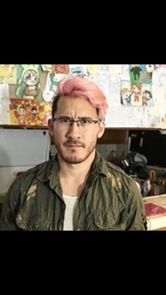Markiplier pink hair anyone