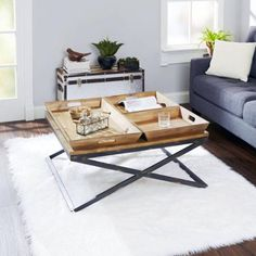 Silverwood Calhoun Industrial Collection Coffee Table