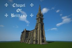 ☩ Chapel of Brittany ☩ Minecraft Project