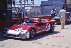 Nino Vaccarella and Toine Hezemans drove this works Alfa Romeo T33/3 at Sebring in 1971.