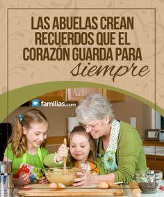 Las abuelas crean recuerdos para siempre :)