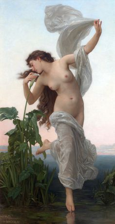 William Bouguereau, L'aurore EOS was the rosy-fingered goddess of the dawn. She and her siblings Helios (the Sun) and Selene (the Moon) were numbered amongst the second-generation Titian gods. EOS, in Latin Aurora, the goddess of the morning red, who brings up the light of day from the east. http://www.theoi.com/Titan/Eos.html