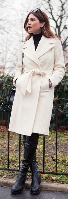 White City Chic Coat by Negin Mirsalehi