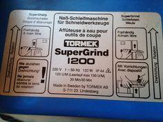 Tormek Super Grind 1200,Schleifbock,Nassschleifmaschine,Nasschleifer,Schleifer | eBay