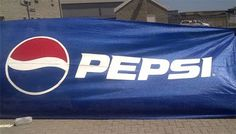 Pepsi - Shade cloth printing Construction Branding, Event Branding, Pepsi, Company Logo, Printing, Shades, Clothes, Outfits, Clothing