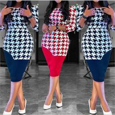 Foreverfad 2020 summer new European and American foreign trade Amazon Latest African Fashion Dresses, Mothers Dresses, New Print, African Women, Pencil Dress, A Line Skirts, Dresses For Sale, Red And Blue, Dress Skirt