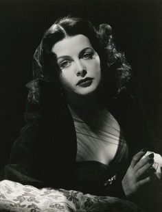 """""""I was madly in love with life."""" Hedy Lamarr."""