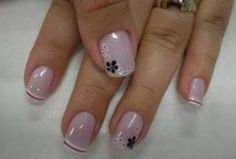 Pin by Kazys Lukošius on woman manicure Shellac Nails, Manicure And Pedicure, Toe Nails, Pink Nails, Nail Art Designs, Fingernail Designs, Elegant Nails, Stylish Nails, French Nails