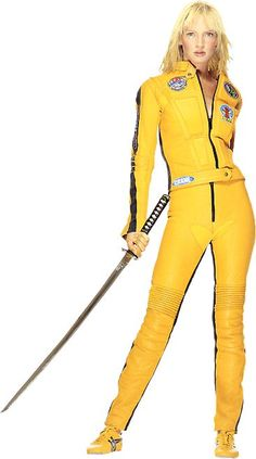 Uma Thurman, still my favorite kick-ass action hero, from Kill Bill. Catch who are the other strong female characters in movies.