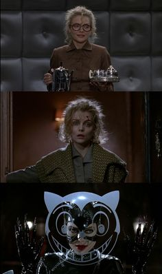 Michelle Pfeiffer from Selina Kyle to Catwoman in Batman Returns movie. Comics Love, Dc Comics, Tim Burton, Group Cosplay, Catwoman Selina Kyle, Bob Kane, Batman And Catwoman, Batman Returns, Fantasy Comics