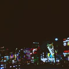 It gets bright at night