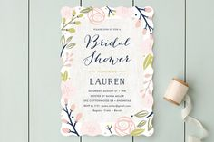 Spring Shower by Carolyn MacLaren at minted.com