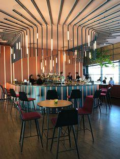 restaurant design Oslo, Design Reisen, Ling Ling O - Design Room, Café Design, Bar Interior Design, Design Studio, Interior Design Inspiration, Restaurant Design, Restaurant Lighting, Luxury Restaurant, Restaurant Counter