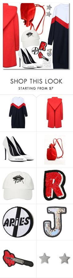"""33 Patches dream"" by laurafox27 ❤ liked on Polyvore featuring Comme des Garçons, Off-White, Meraki, Olympia Le-Tan, Aries, Stoney Clover Lane and Gucci"