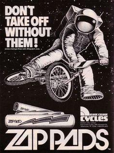 Vintage BMX Ads: ZIP PADS