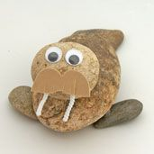 Rock Walrus Craft  from www.daniellesplace.com