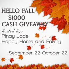 Giveaway Round Up: Cash $$$ Prizes at Stake!