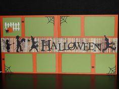 Handmade Halloween Two Page 12 x 12 by HighlandInspirations, $20.00