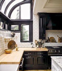 Kitchen Interior, Home Interior Design, Kitchen Decor, Kitchen Ideas, Interior Architecture, Apartment Kitchen, Cozy Apartment, Design Kitchen, Kitchen Styling
