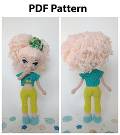 Gloria Doll pattern is an easy-to-follow Photo tutorial which consists of 41 pages in PDF format. The eyes pattern is also included. #etsy #crochetamigurumi #crochetamigurumipattern #CrochetDollpattern #AmigurumiDollpattern #crochettoypattern #amigurumitoypattern