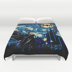 I so need this in my life! Starry Knight iPhone 4 4s 5 5c 6, pillow case, mugs and tshirt Duvet Cover