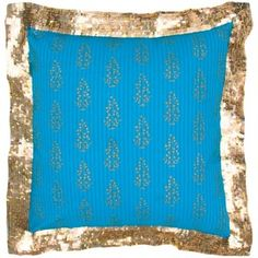 Mariella Cushion in Blue