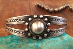Old Pawn Fred Harvey Navajo Sterling Silver by MudPonyTraders