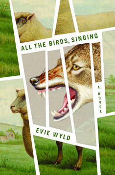 All the Birds, Singing by Evie Wyld // Amazing illustrated book cover, with wolf and sheep, Design by Joan Wong (plus 31 more of the most beautiful book covers Best Book Covers, Beautiful Book Covers, Typographie Design, Print Design, Design Art, Buch Design, Publication Design, Cool Books, Design Graphique