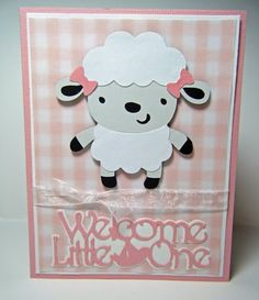 """Lamb from CAC 1, """"welcome little one"""" from Nursery Rhymes cart"""