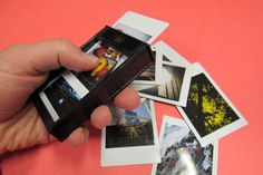 Tip: Use Empty Instax Film Packs as a Holder for Your Instant Photos