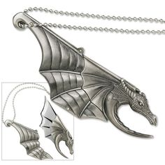 Flying Dragon Necklace Knife