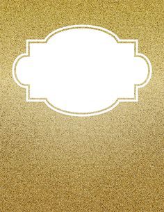 Free printable gold glitter binder cover template. Download the cover in JPG or PDF format at http://bindercovers.net/download/gold-glitter-binder-cover/